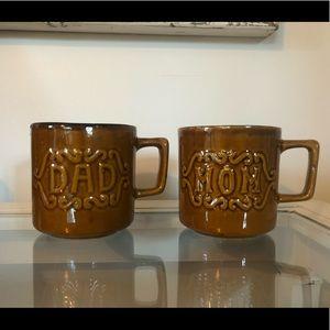 mom & dad boho mugs